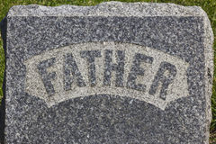 Father Headstone Royalty Free Stock Photos