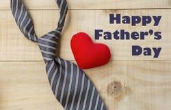 Father& heureux x27 ; concept de jour de s Photos libres de droits