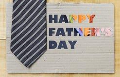 Father& heureux x27 ; jour de s Images stock