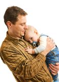 Father with his child Stock Photography