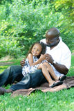 A father and his daughter Royalty Free Stock Images