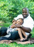 A father and his daughter Royalty Free Stock Image