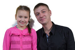 Father with his daughter Royalty Free Stock Photography