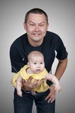 Father with his little daughter Stock Images