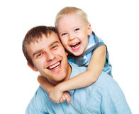 Father with his little son Royalty Free Stock Images