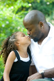 A father and his mixed race daughter Royalty Free Stock Photography