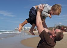 Father with his son Stock Photography