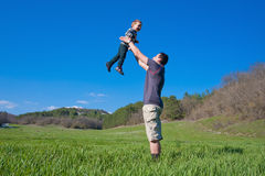 Father with his son Royalty Free Stock Images