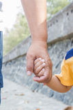 Father Hold His Son S Hand Royalty Free Stock Photo
