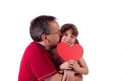 Happy Valentine's Day Royalty Free Stock Photography