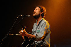 Father John Misty band performs at San Miguel Primavera Sound Festival Royalty Free Stock Photo