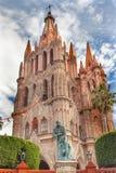 Father Juan de San Miiguel Statue Parroquia Church San Miguel Mexico Royalty Free Stock Image
