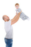 Father and little baby. Stock Photography
