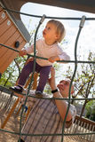 Father and little daughter playing royalty free stock photos