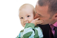 Father with little son Royalty Free Stock Photos