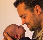 Father love Stock Image