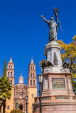 Father Miguel Hidalgo Statue Dolores Hidalgo Mexico royalty free stock photo