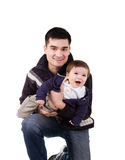 Father play with his little son Stock Images