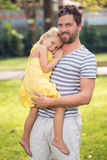 Father�s care Stock Images