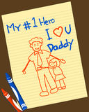 Father's day Royalty Free Stock Photography