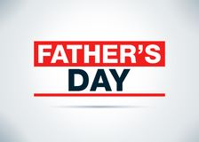 Father's Day Abstract Flat Background Design Illustration. Father's Day Isolated on Abstract Flat Background Design Illustration vector illustration