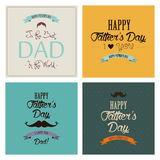 Father's Day Royalty Free Stock Photos