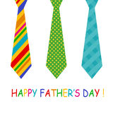 Father's day card stock illustration