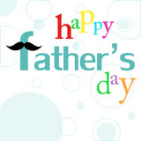 Father's day card Royalty Free Stock Photography