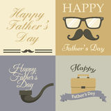 Father's Day card collection Royalty Free Stock Image