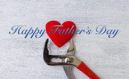 Father`s day card concept Stock Photography