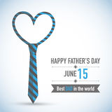 Fathers Day Card Design Royalty Free Stock Photo
