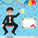 Father's Day Celebration Royalty Free Stock Image