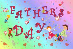 Father's Day Royalty Free Stock Images
