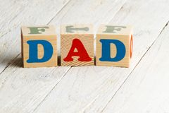 Father's Day concept Stock Photography