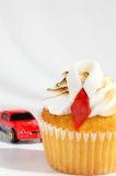 Father's day cupcake Stock Photo