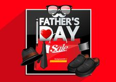 Father`s Day royalty free illustration