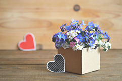 Father's day flowers Royalty Free Stock Images