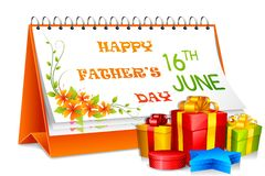 Father's Day Gift vector illustration