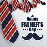 Father`s Day Greeting Card Background Stock Photography