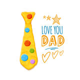 Father`s Day Greeting Stock Photography