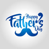 Happy fathers day greeting card vector illustration Stock Illustration