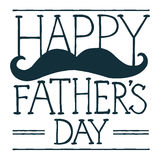 Father's Day illustration Stock Images