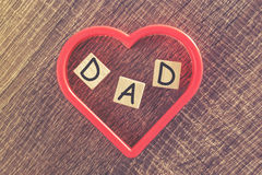 Father's Day message Royalty Free Stock Photos