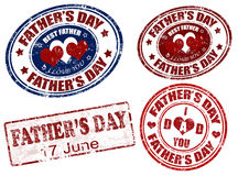 father's day stamp Royalty Free Stock Images