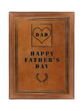 Father's day tablet Stock Image
