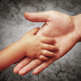 Father's hand Royalty Free Stock Photo