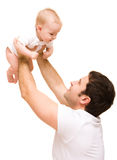 Father's love stock images