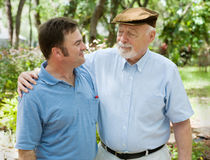 Father's Pride stock photography