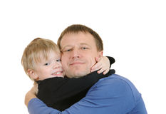 The father and the son Royalty Free Stock Images