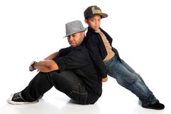 Father and Son Royalty Free Stock Image